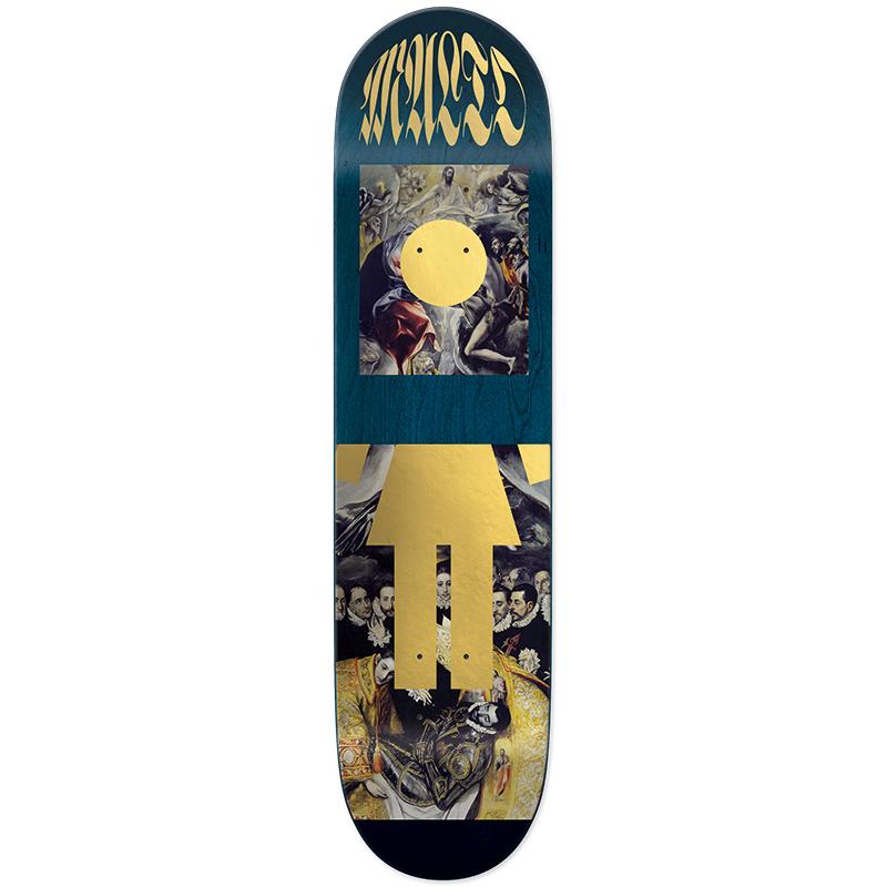 Girl Malto Renaissance OG Skateboard Deck 8.125