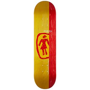 Girl Malto Sketchy Og Skateboard Deck 7.75
