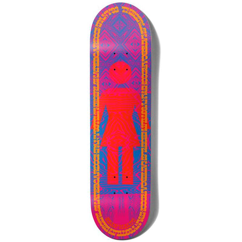 Girl Malto Vibration Og Skateboard Deck 7.75