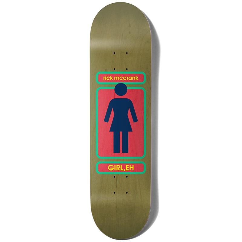 Girl Mccrank 93 Til Skateboard Deck 8.375