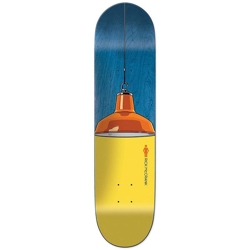 Girl McCrank Illuminated Skateboard Deck 8.125