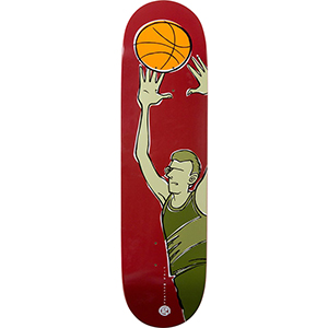 Girl Mccrank Jenks Basketball Skateboard Deck 8.375