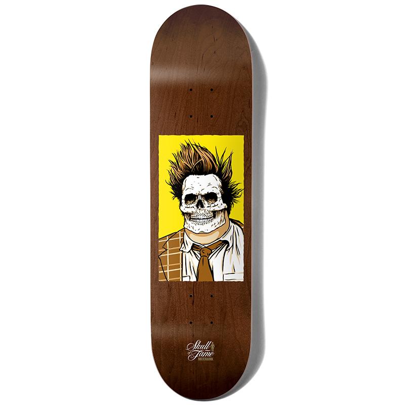 Girl McCrank Skull Of Fame Skateboard Deck 7.875