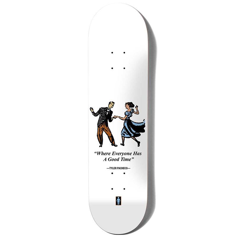 Girl Pacheco Good Times Skateboard Deck 8.0