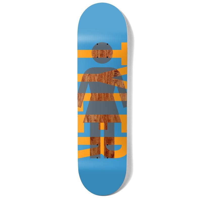 Girl Pacheco OG Knockout Skateboard Deck Blue 8.375