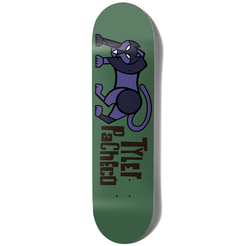 Girl Pacheco Pictograph Skateboard Deck 8.125