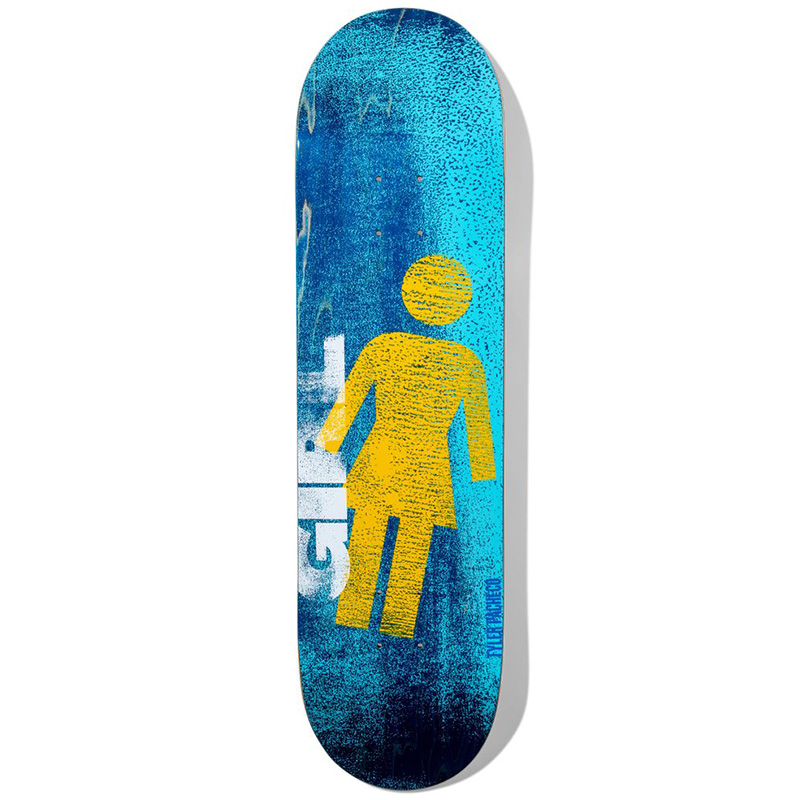 Girl Pacheco Roller OG Series Skateboard Deck 8.375