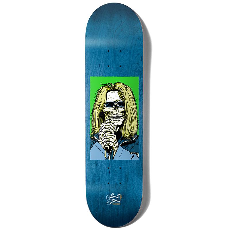 Girl Pacheco Skull Of Fame Skateboard Deck 8.125