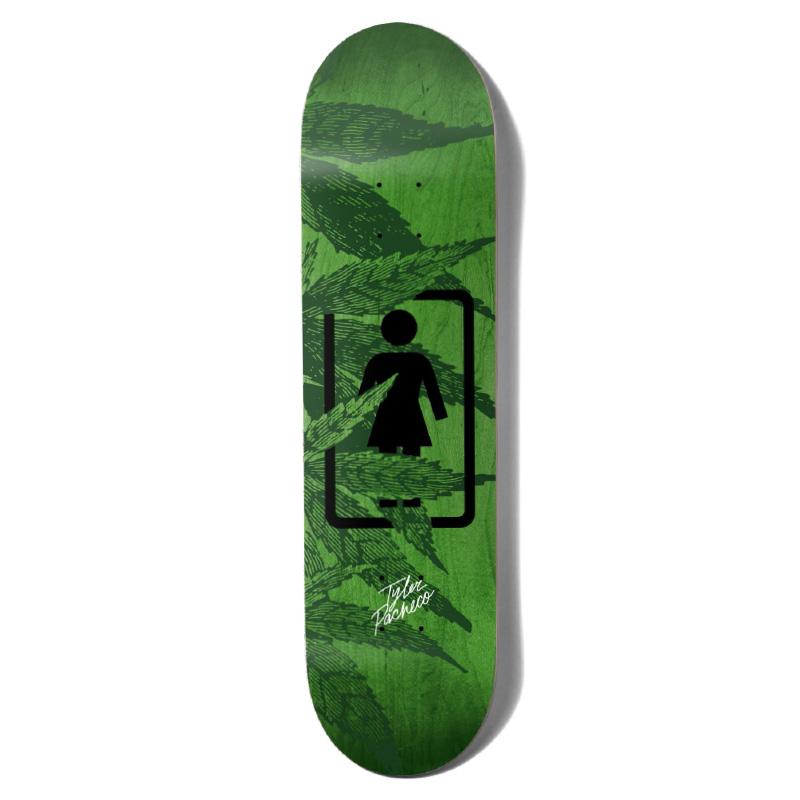 Girl Pacheco Smokers Skateboard Deck 8.0