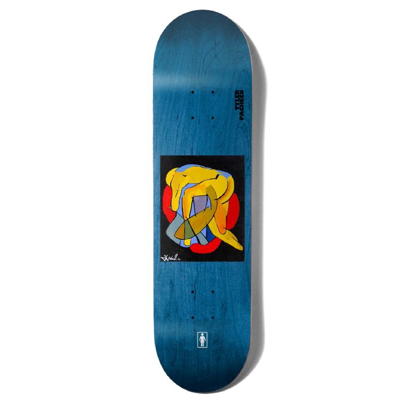 Girl Pacheco Tangled Skateboard Deck 8.0