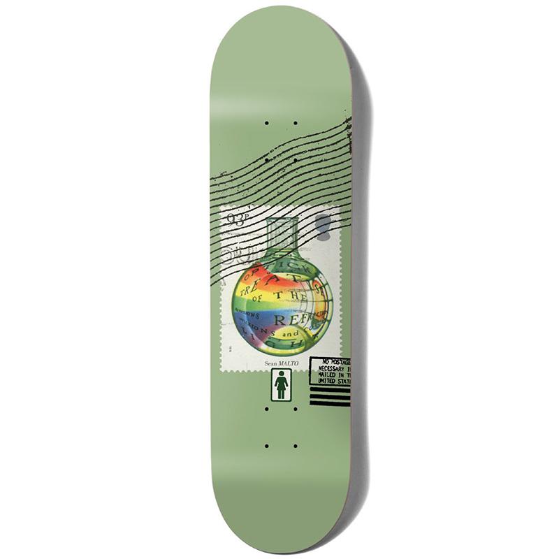 Girl Postal Sean Malto Skateboard Deck 8.25