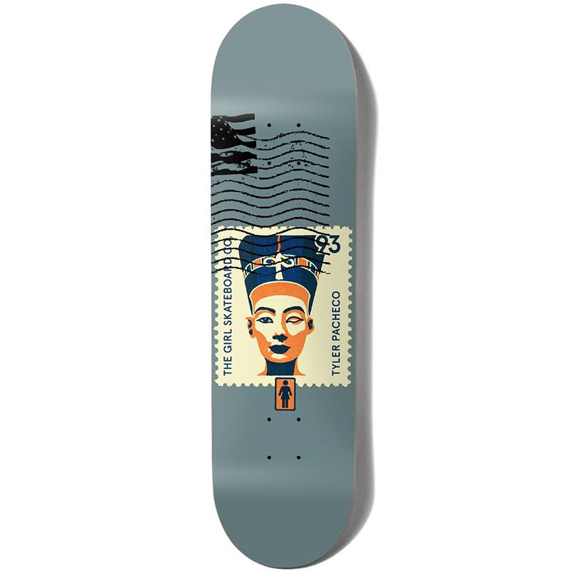 Girl Postal Tyler Pacheco Skateboard Deck 8.375
