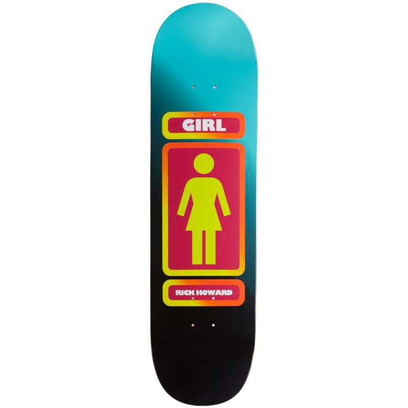 Girl Rick Howard 93 Til Skateboard Deck 8.5