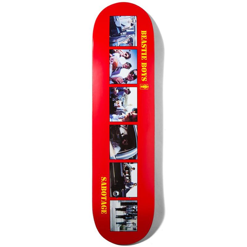 Girl x Beastie Boys Sabotage Skateboard Deck 8.0