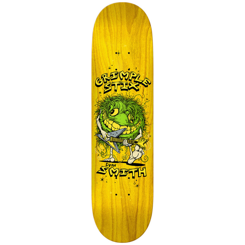 Grimple Stix Evan Smith Family Band Skateboard Deck 8.12