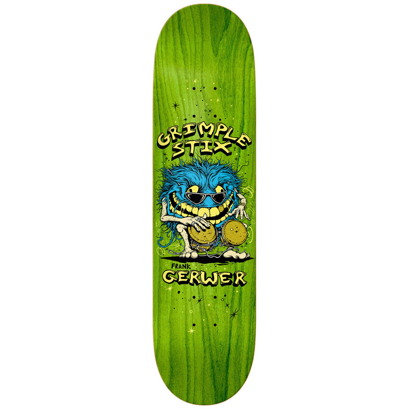 Grimple Stix Gerwer Family Band Skateboard Deck 8.06