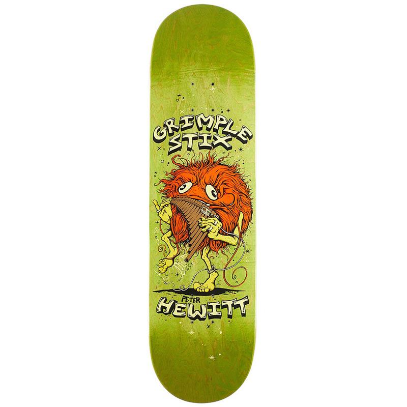 Grimple Stix Hewitt Family Band Skateboard Deck 8.25