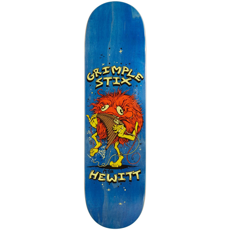 Grimple Stix Hewitt Family Band Skateboard Deck 8.62