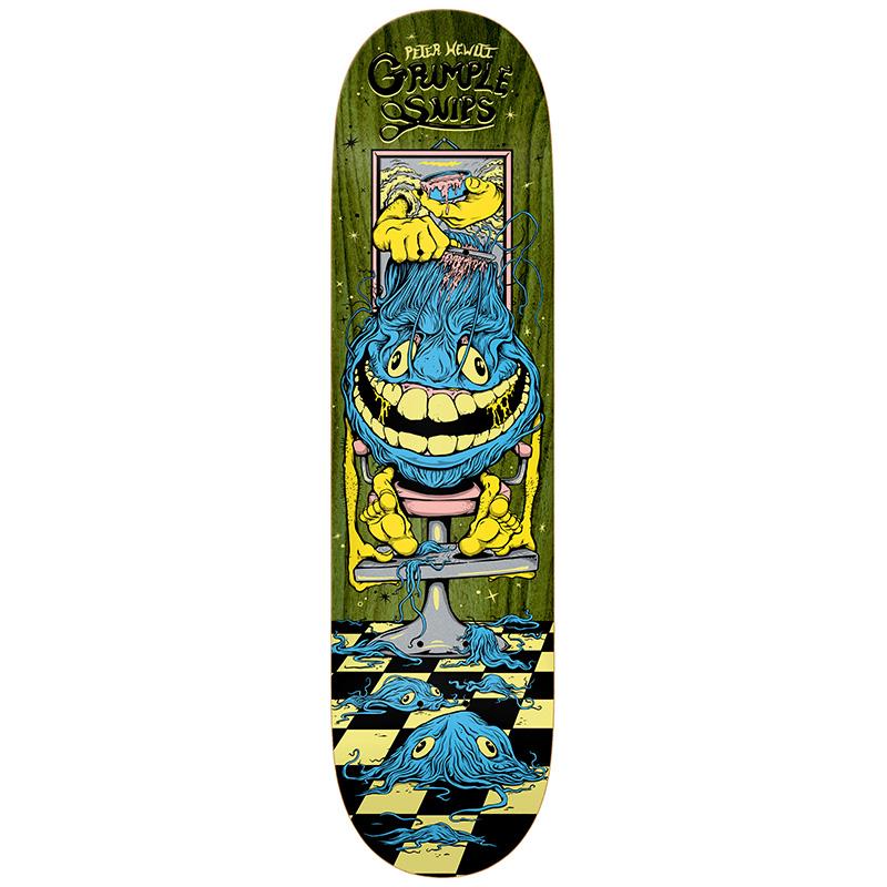 Grimple Stix Hewitt Grimple Snips Skateboard Deck 8.4