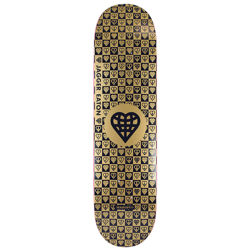 Heart Supply Jagger Eaton Trinity Gold Foil with Raised Ink Deck 8.25