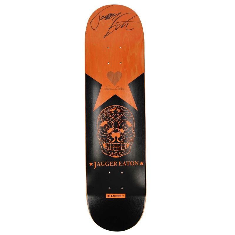 Heart Supply JE Jagger Eaton Signed Skateboard Deck 8.0