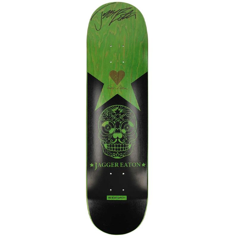 Heart Supply JE Jagger Eaton Signed Skateboard Deck 8.25