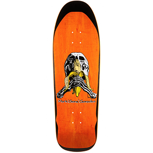 Blind Heritage Gonzales Skull and Banana Screenprinted Skateboard Deck 9.875