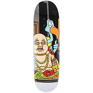 Heritage Last Supper Buddha Skateboard Deck 8.62