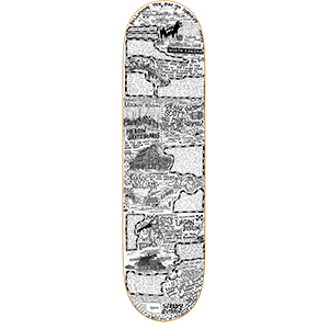 Heroin Dakota Skateboard Deck 8.75