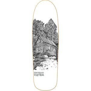 Heroin DMODW Cabin 2 Skateboard Deck 9.25