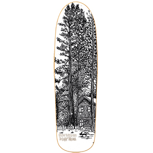 Heroin DMODW Cabin Skateboard Deck 9.25