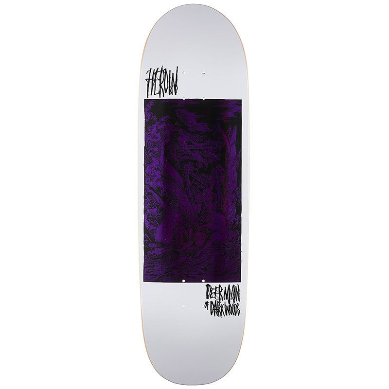 Heroin DMODW Final Dance Of Death Skateboard Deck 9.2