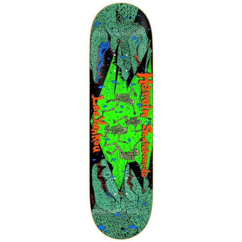 Heroin Lee Yankou Croc Skateboard Deck 8.25