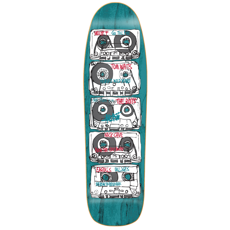 Heroin Tapes Skateboard Deck 8.88