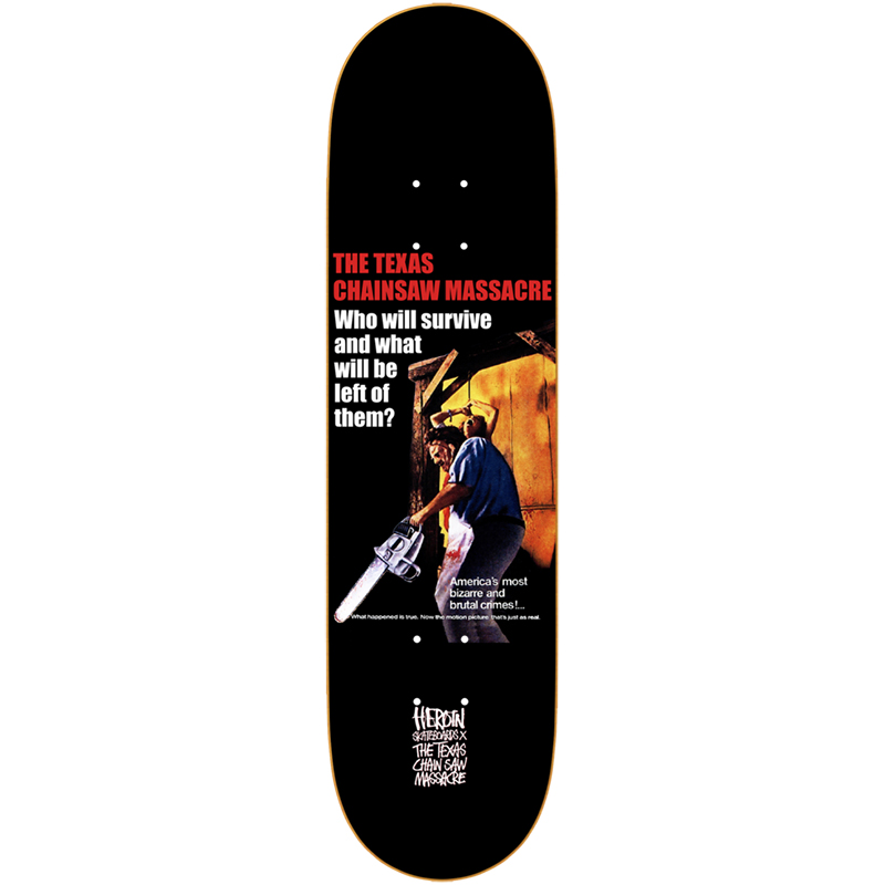 Heroin TCM Collage Skateboard Deck 8.625