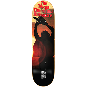 Heroin TCM Leatherface Skateboard Deck 8.5