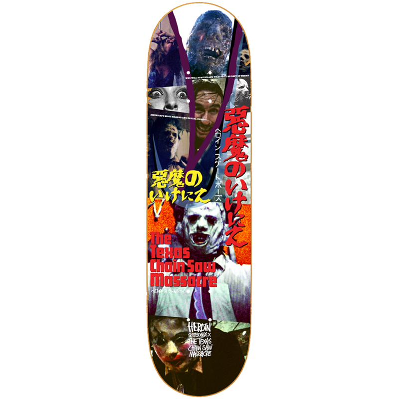 Heroin TCM Who Will Survive Skateboard Deck 8.25