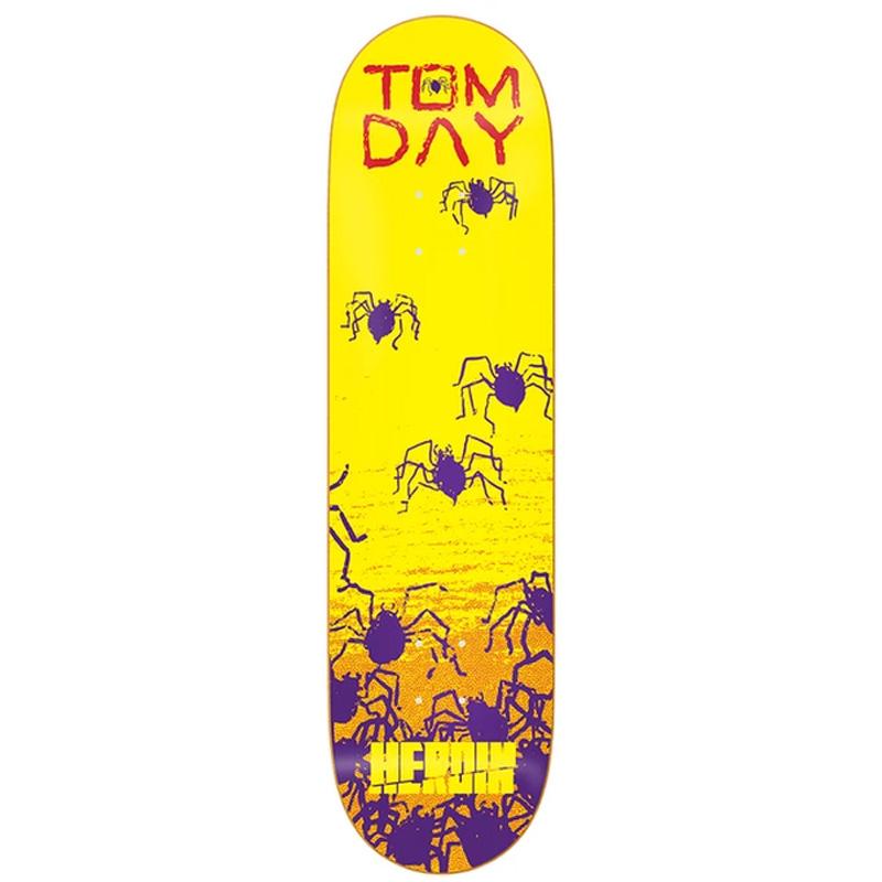 Heroin Tom Day Giallo Skateboard Deck 8.5