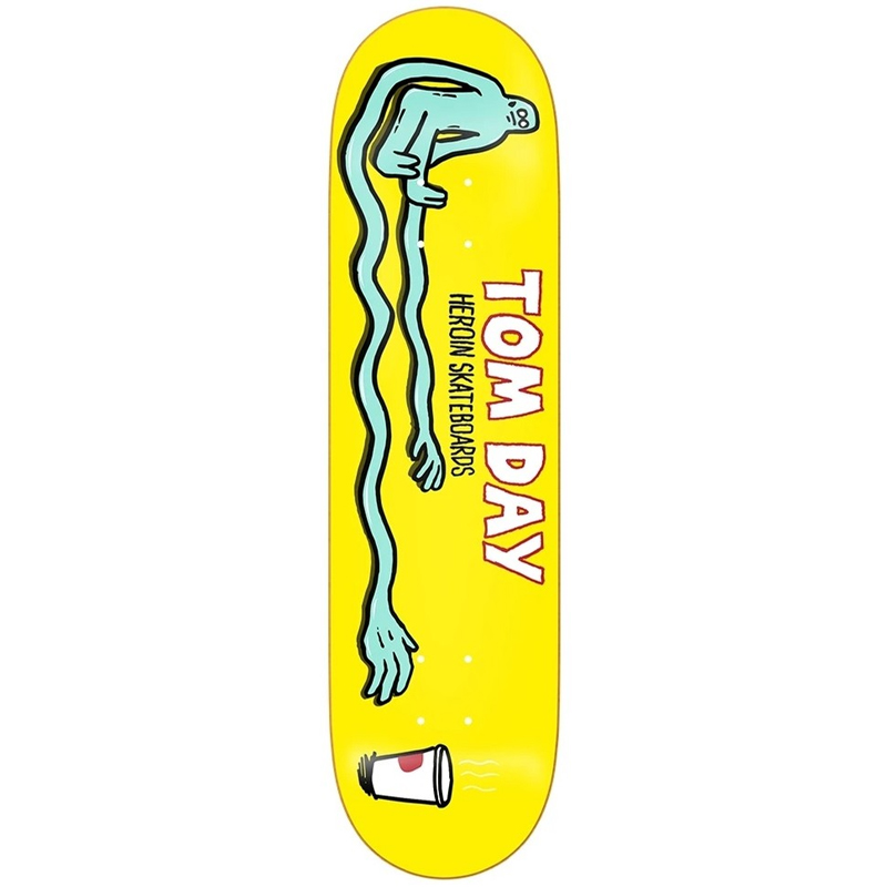 Heroin Tom Day Stretch Skateboard Deck 8.5