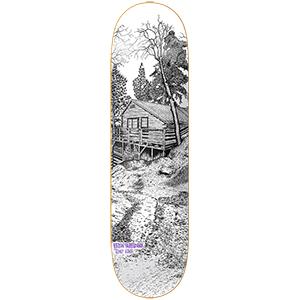 Heroin Tony Karr Cabin 2 Skateboard Deck 8.38