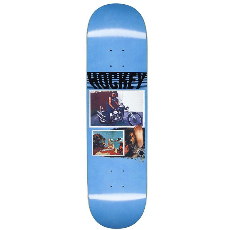 Hockey Andrew Allen Biker Skateboard Deck 8.25
