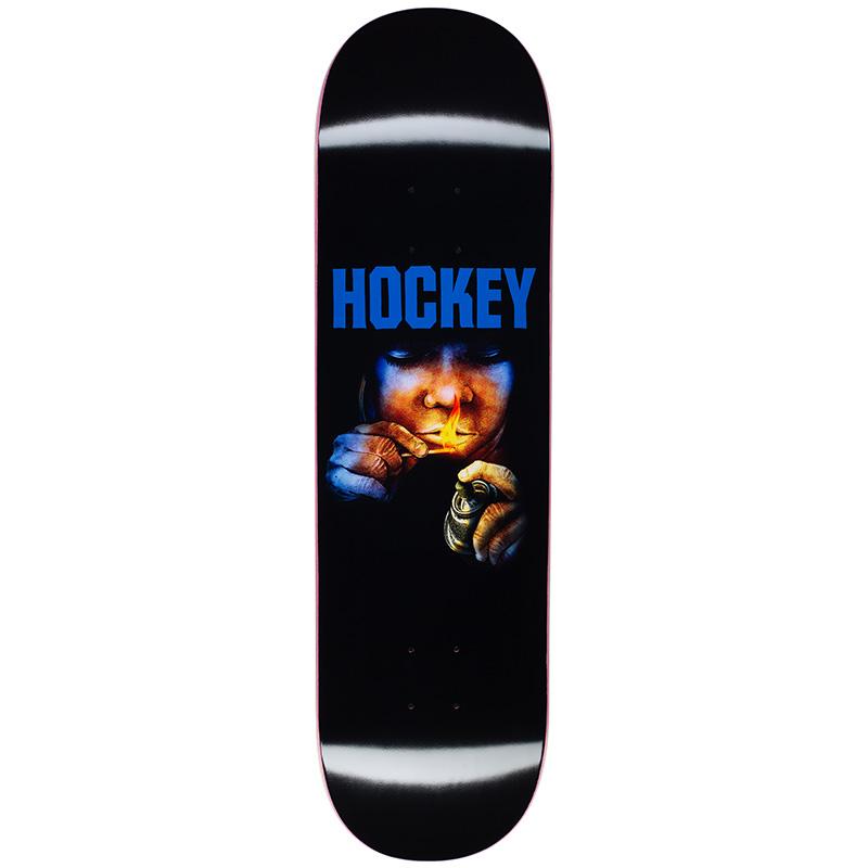 Hockey Instructions Donovon Piscopo Skateboard Deck 8.38