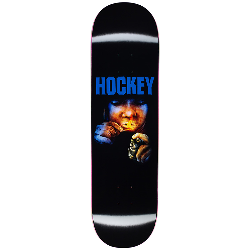 Hockey Instructions Donovon Piscopo Skateboard Deck 8.5