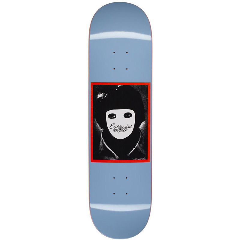 Hockey No Face Blue Skateboard Deck 8.0
