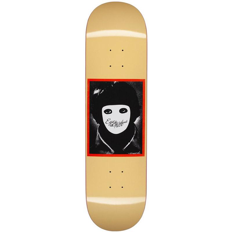 Hockey No Face Yellow Skateboard Deck 8.25