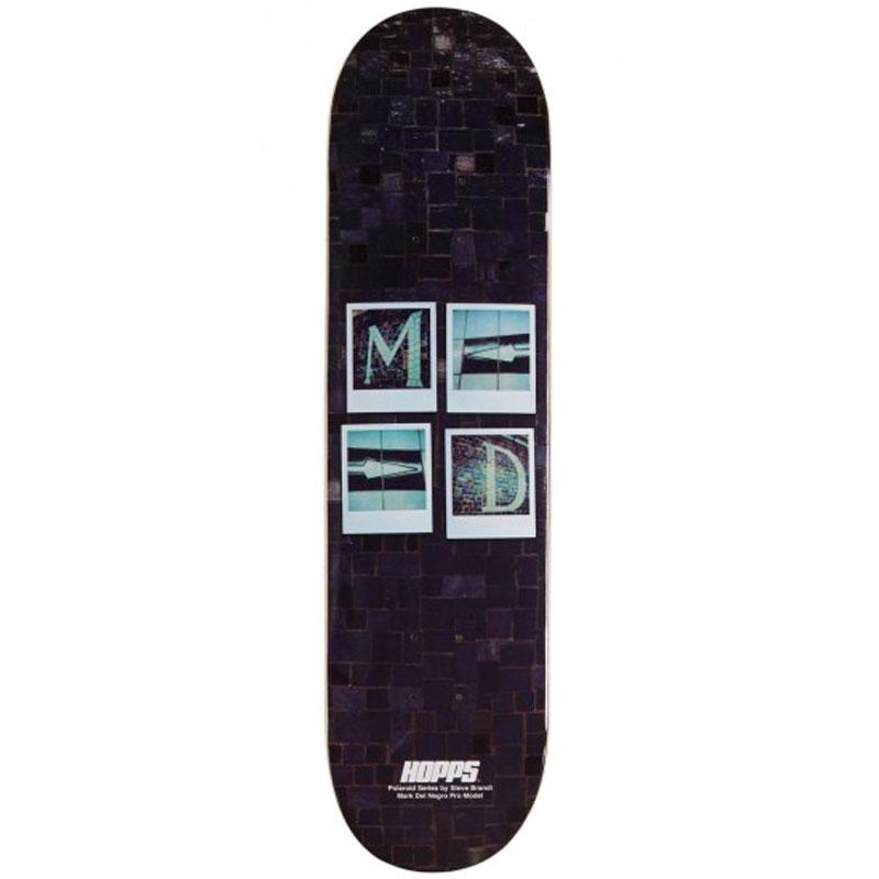 Hopps Del Negro Brandi Polaroid Series Skateboard Deck 8.0