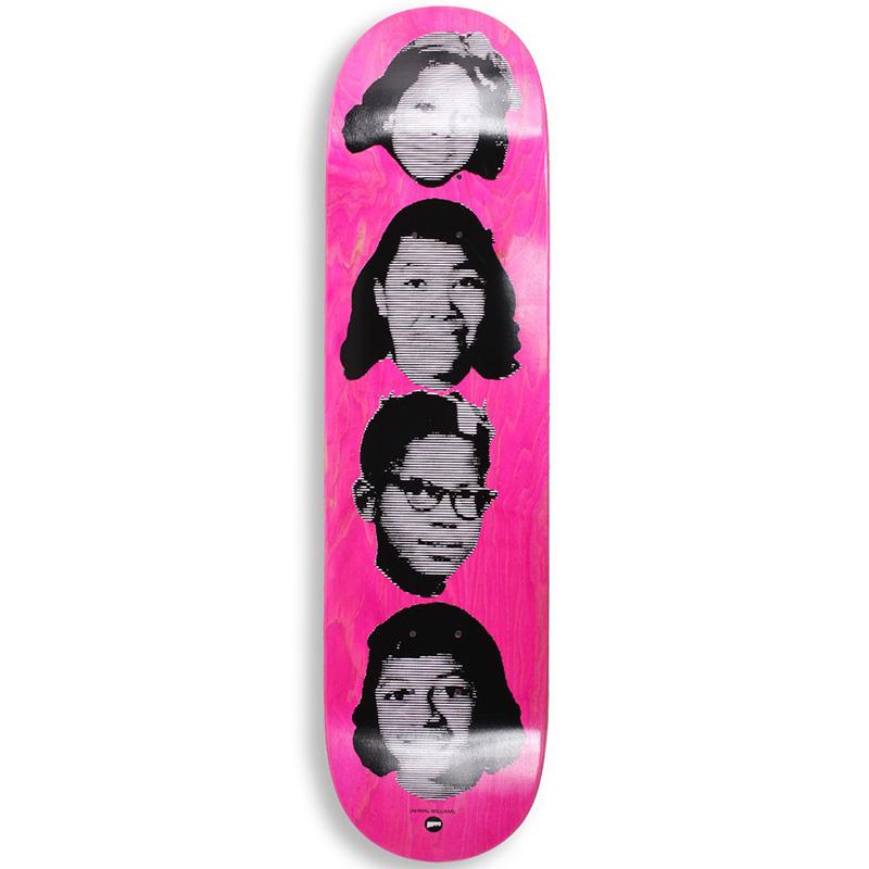 Hopps Jahmal Williams In Loving Memory Of Skateboard Deck 8.0