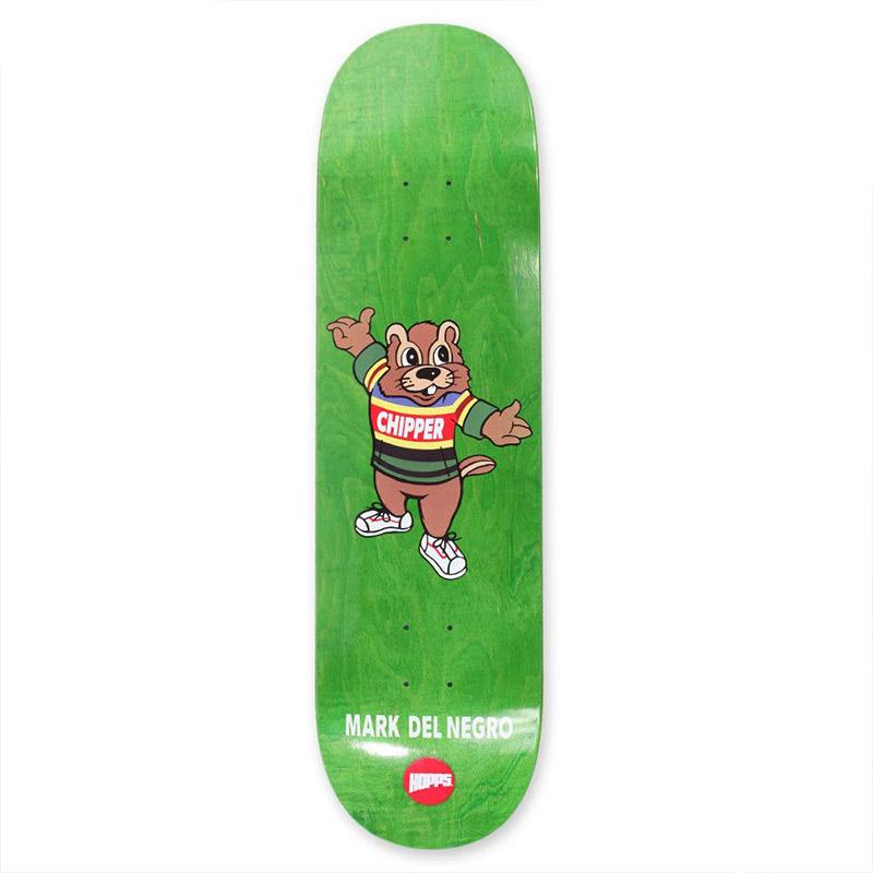 Hopps Mark Del Negro Chipper Skateboard Deck 8.25