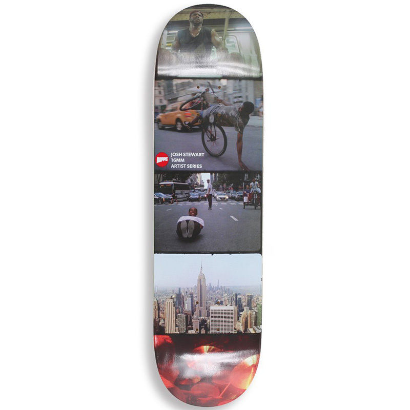 Hopps Moving Stewart 16mm Skateboard Deck 8.25