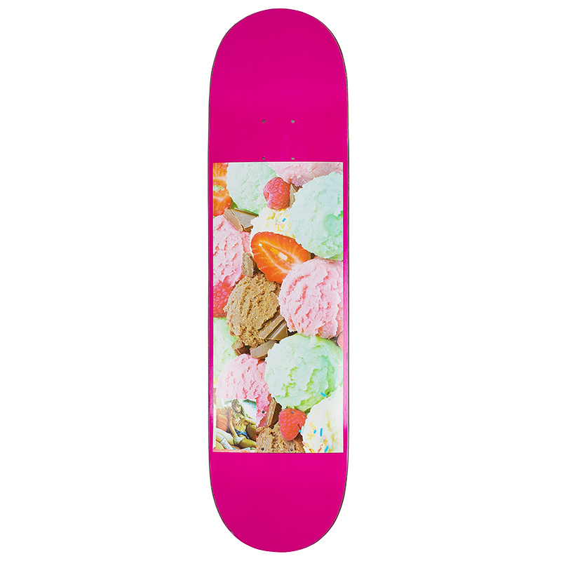Hymn Retro Sugar Ice Cream Skateboard Deck 8.375
